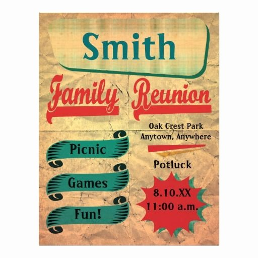 Free Family Reunion Flyer Templates Fresh 19 Best Helpful Hints Images On Pinterest