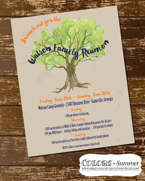 Free Family Reunion Flyer Templates Inspirational Family Reunion Invitation Family Reunion Flyer Family Tree