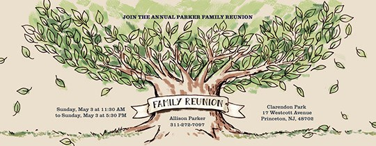 Free Family Reunion Flyer Templates Luxury Free Family Gathering Line Invitations