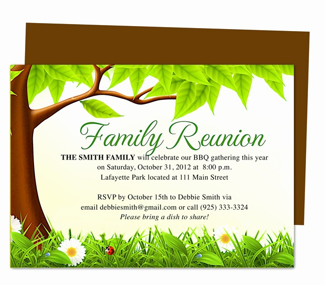 Free Family Reunion Flyer Templates New Celebration Templates Ready Made Printable Designs