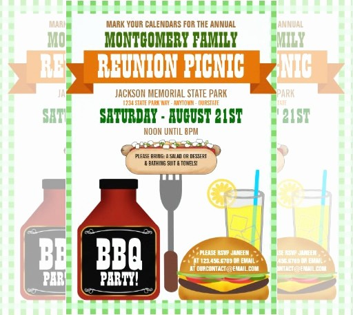 Free Family Reunion Flyers Templates Awesome 35 Family Reunion Invitation Templates Psd Vector Eps