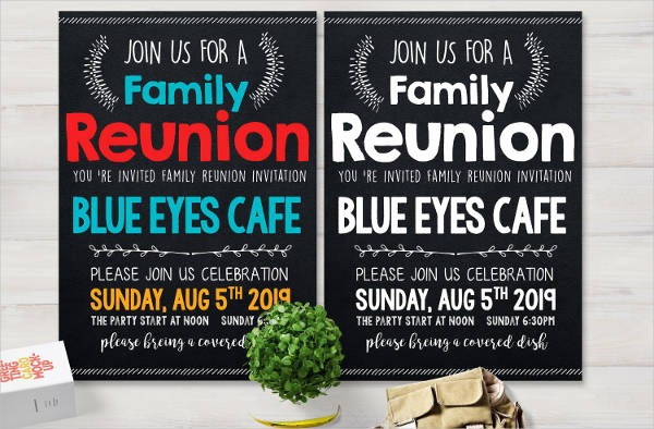 Free Family Reunion Flyers Templates Beautiful 49 Printable Invitation Flyer Designs & Templates Psd