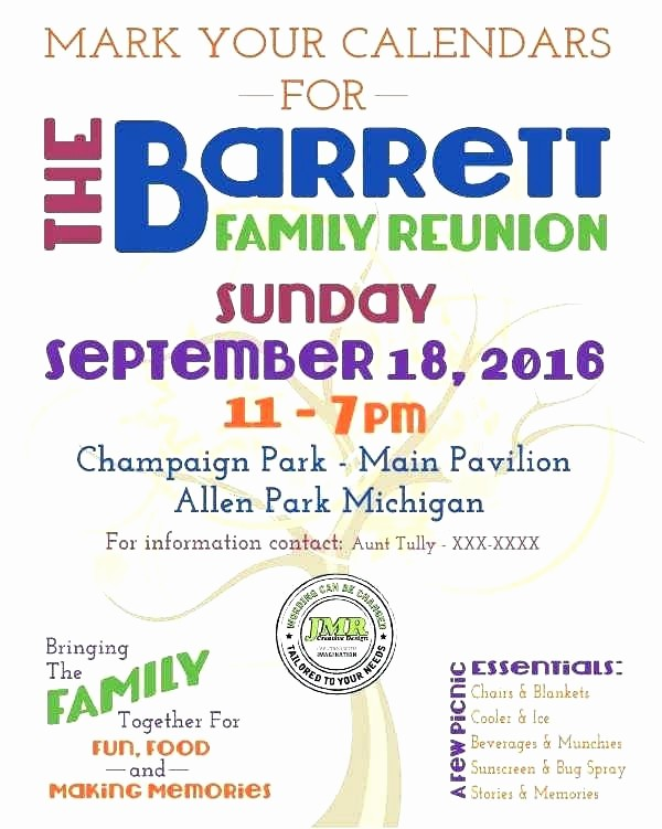 Free Family Reunion Flyers Templates Beautiful 86 Examples Family Reunion Flyers Reunion Flyer