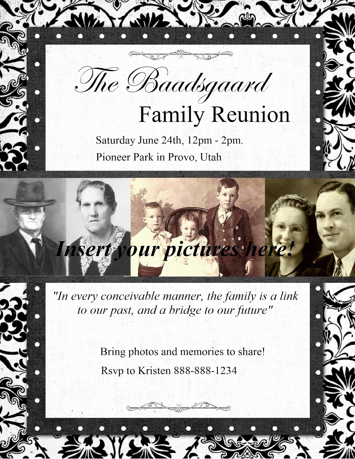Free Family Reunion Flyers Templates Luxury Heritage Collector Storybook Family Reunion Flyers