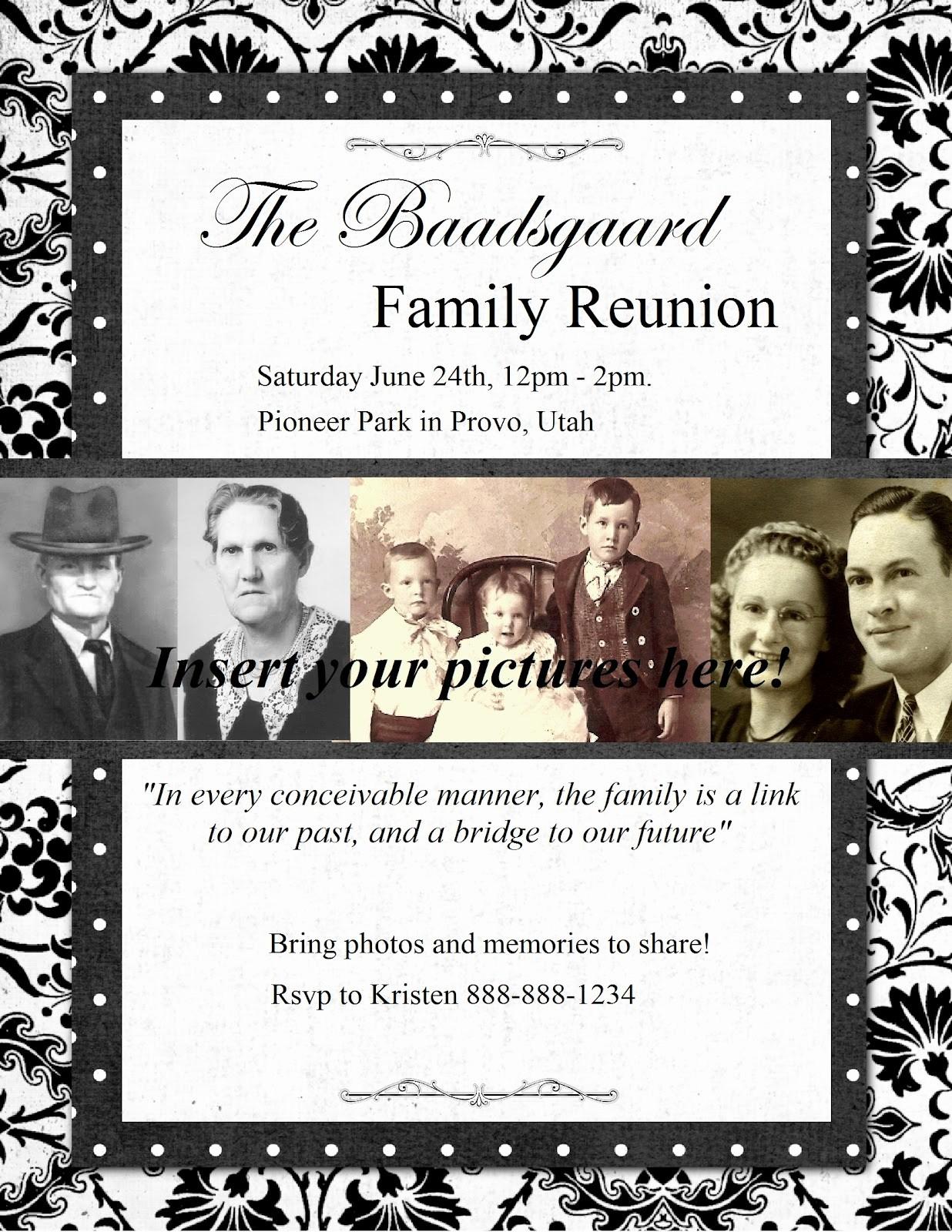 Free Family Reunion Flyers Templates Luxury Heritage Collector Storybook Family Reunion Flyers