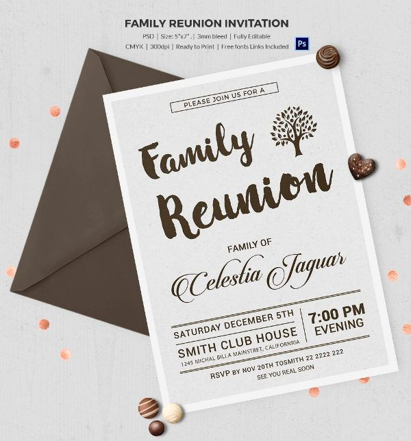 Free Family Reunion Flyers Templates New Best 25 Family Reunion Invitations Ideas On Pinterest