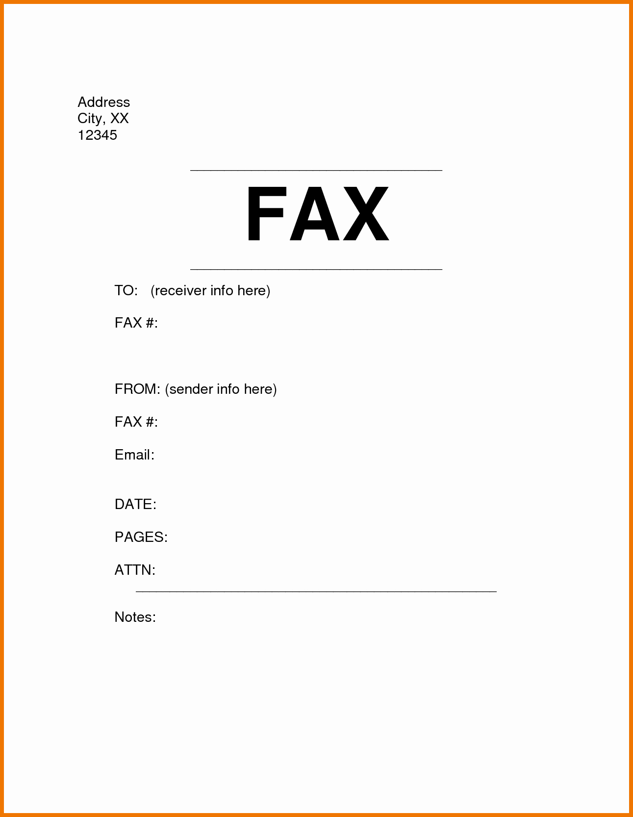Free Fax Cover Letter Template Lovely Sample Fax Cover Sheet Staruptalent