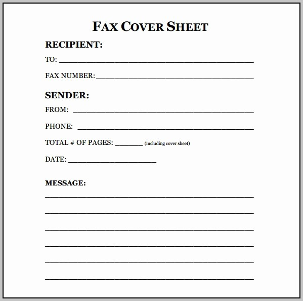 Free Fax Cover Letter Template Luxury Sample Cover Letter Fill In the Blank Cover Letter
