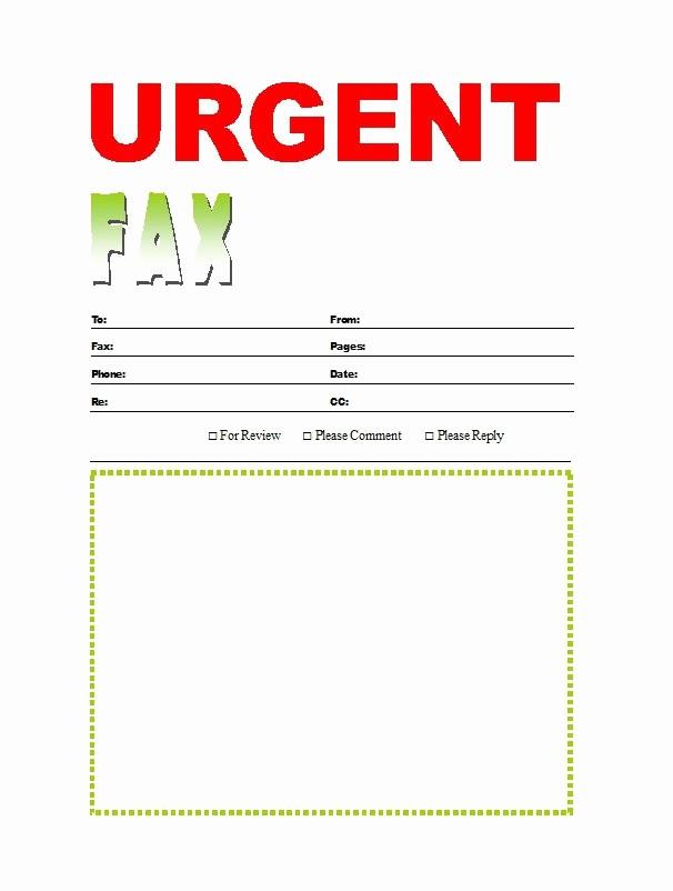 Free Fax Cover Sheets Templates Unique 40 Printable Fax Cover Sheet Templates Free Template