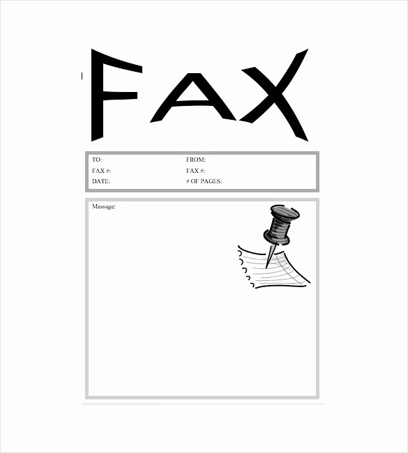 Free Fax Templates for Word Elegant 7 Fax Cover Letter Templates Free Sample Example