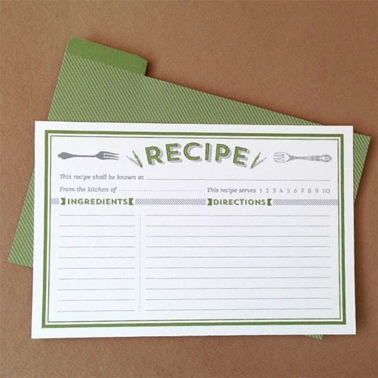 Free Fillable Recipe Card Template Luxury 8 Free Recipe Card Templates Excel Pdf formats