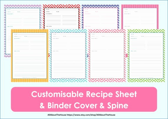 Free Fillable Recipe Card Template Luxury Free Editable Recipe Card Templates for Microsoft Word