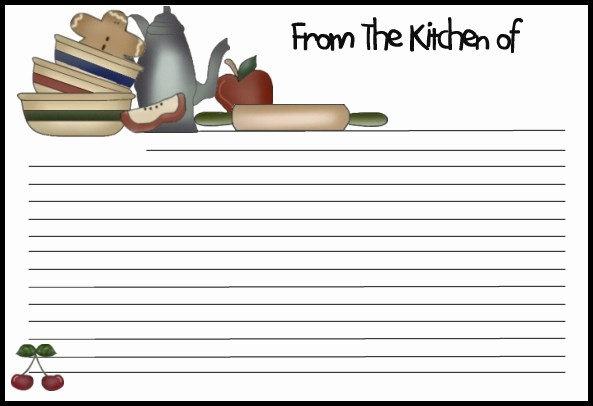 Free Fillable Recipe Card Template Unique 13 Recipe Card Templates Excel Pdf formats