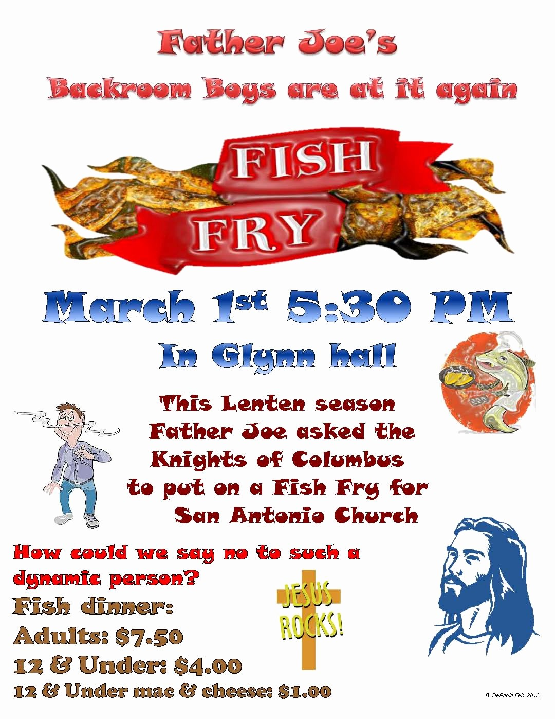 Free Fish Fry Flyer Template Beautiful 10 Best S Of Fried Flyers Chicken Dinners Chicken