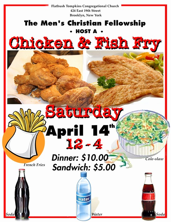 p fried flyers chicken dinners