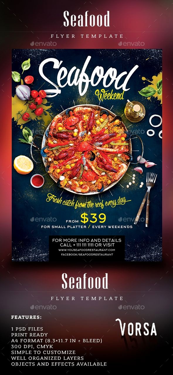 Free Fish Fry Flyer Template Beautiful Pin by Bashooka Web & Graphic Design On Food & Drink Flyer
