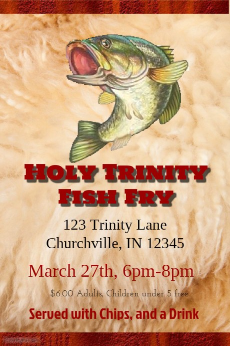 Free Fish Fry Flyer Template Beautiful Postermywall