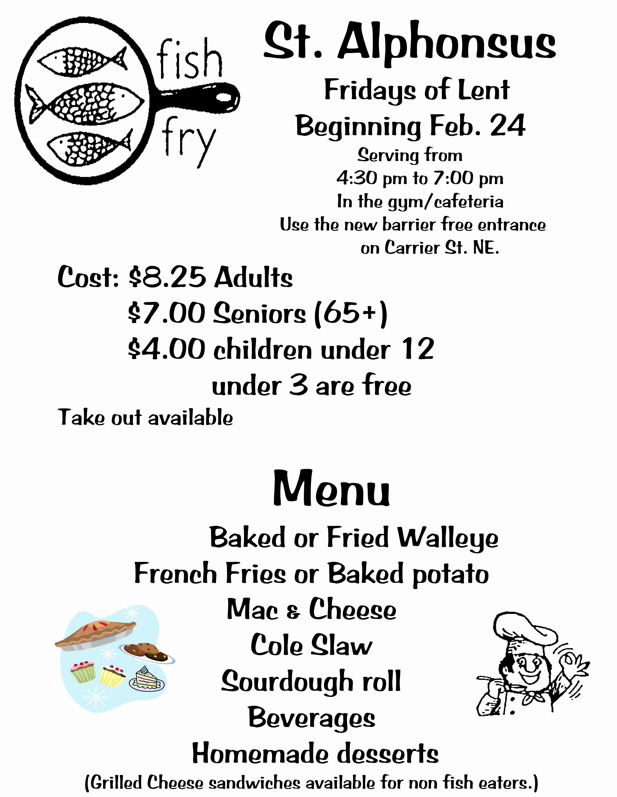 Free Fish Fry Flyer Template Best Of Fish Fry Flyer