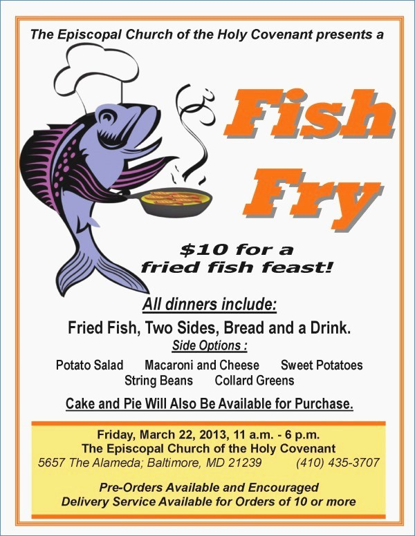Free Fish Fry Flyer Template Fresh Fish Fry Flyer Powerpoint Template – Harddancefo