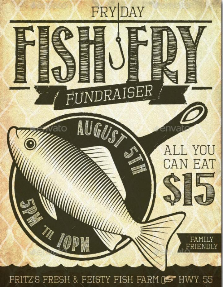Free Fish Fry Flyer Template Inspirational 14 Restaurant Fundraising Flyer Designs & Templates Psd