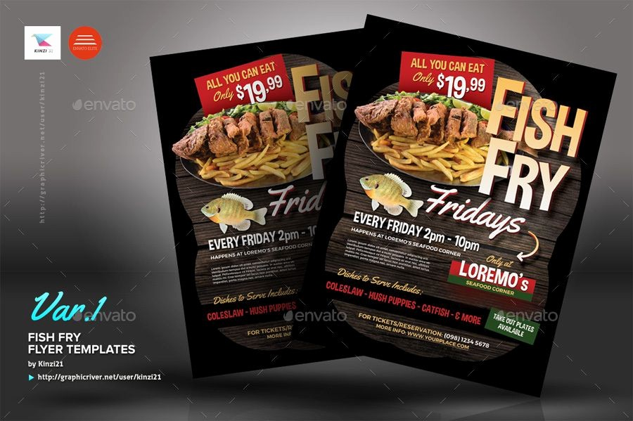 Free Fish Fry Flyer Template Inspirational Fish Fry Flyer Templates Foods
