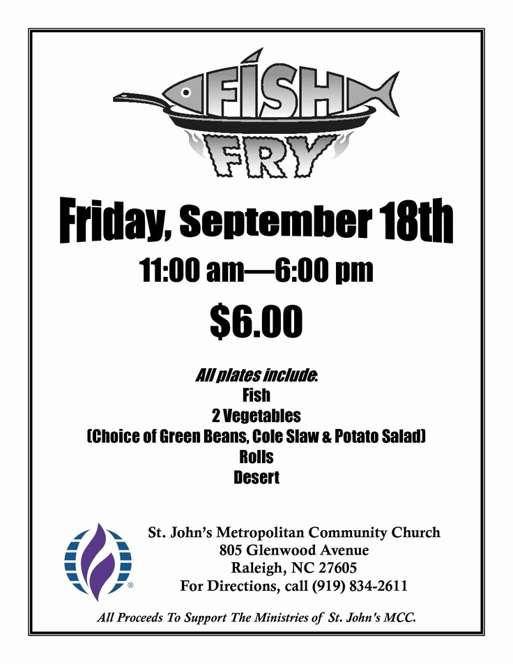 Free Fish Fry Flyer Template Luxury Free Fish Fry Flyer Templates Fish Fry Poster