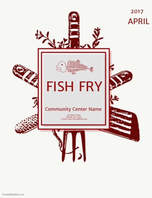 Free Fish Fry Flyer Templates Beautiful Fish Fry Template