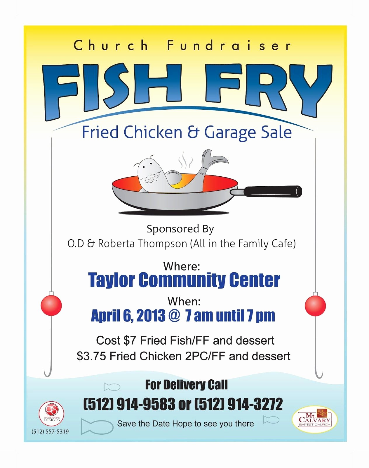 Free Fish Fry Flyer Templates Elegant Fish Fry Flyer Template to Add Anthony Simien