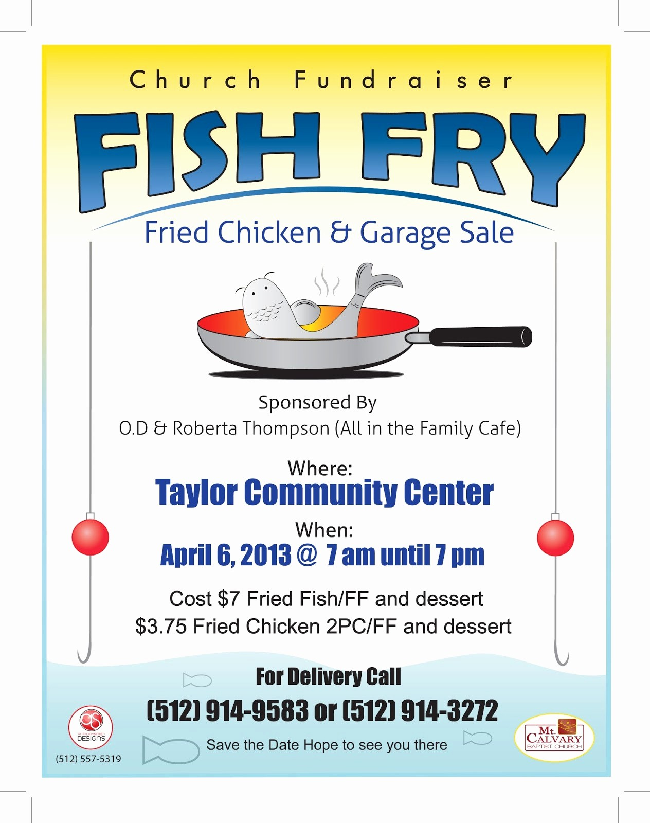 Free Fish Fry Flyer Templates Inspirational Anthony Simien