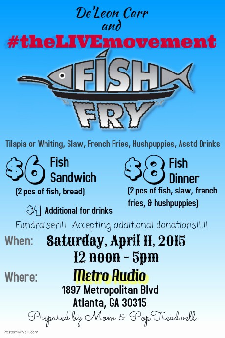 Free Fish Fry Flyer Templates Lovely Fish Fry Fundraiser Template