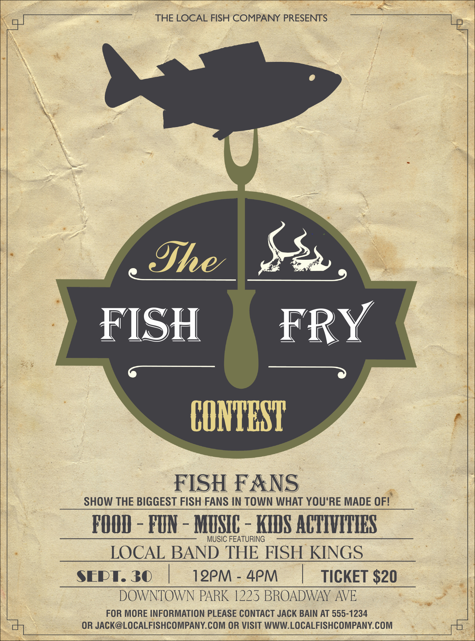 Free Fish Fry Flyer Templates Luxury Fish Fry Flyer