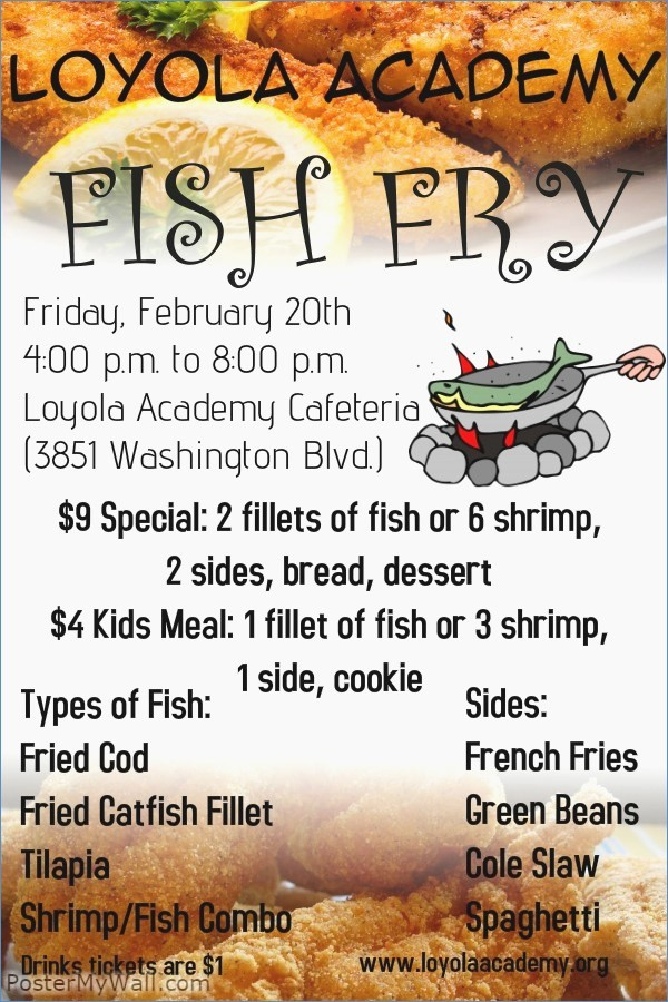 Free Fish Fry Flyer Templates Luxury Fish Fry Flyer Powerpoint Template – Harddancefo