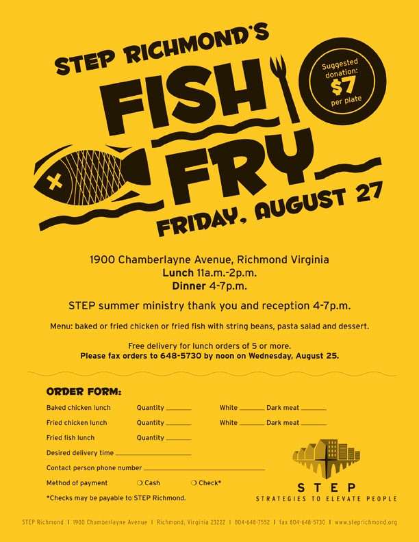 fish and chicken fry on friday 8 27 7 donation