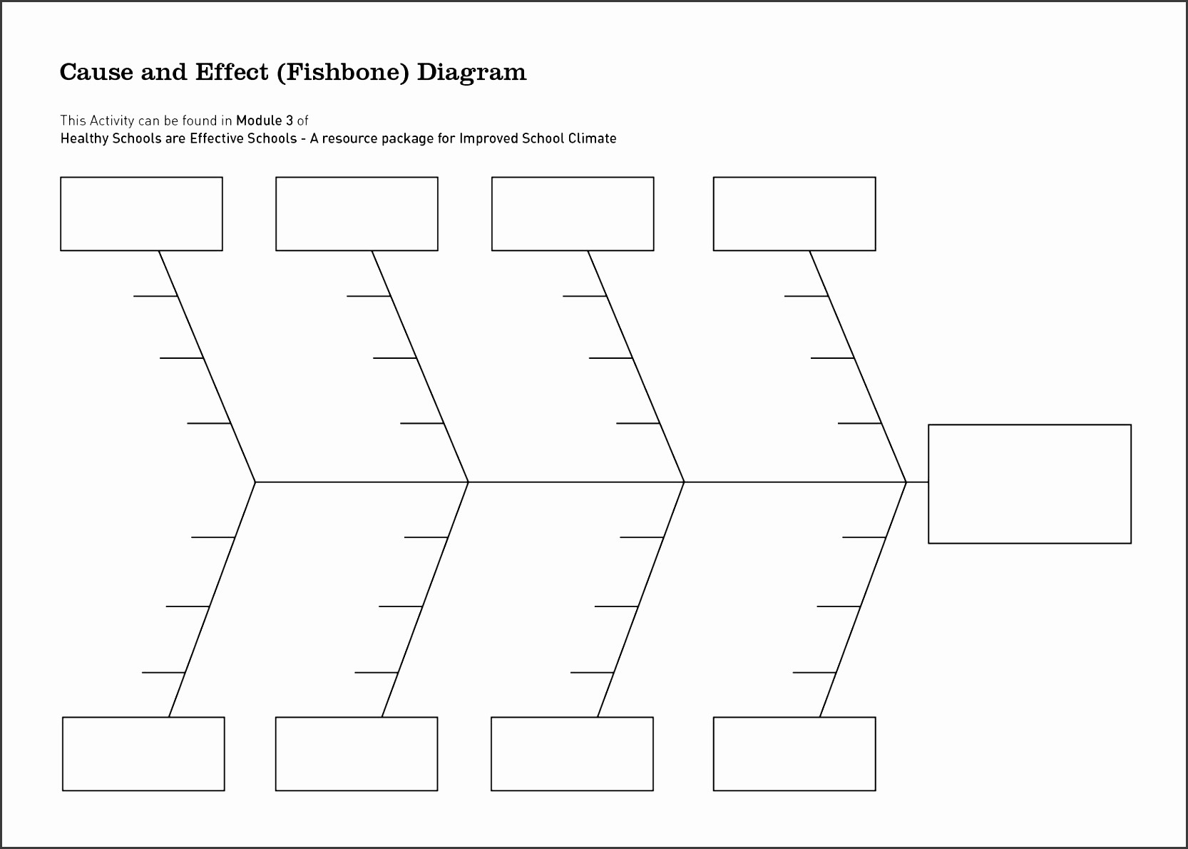 Free Fishbone Diagram Template Word Fresh 9 ishikawa Diagram Template Sampletemplatess