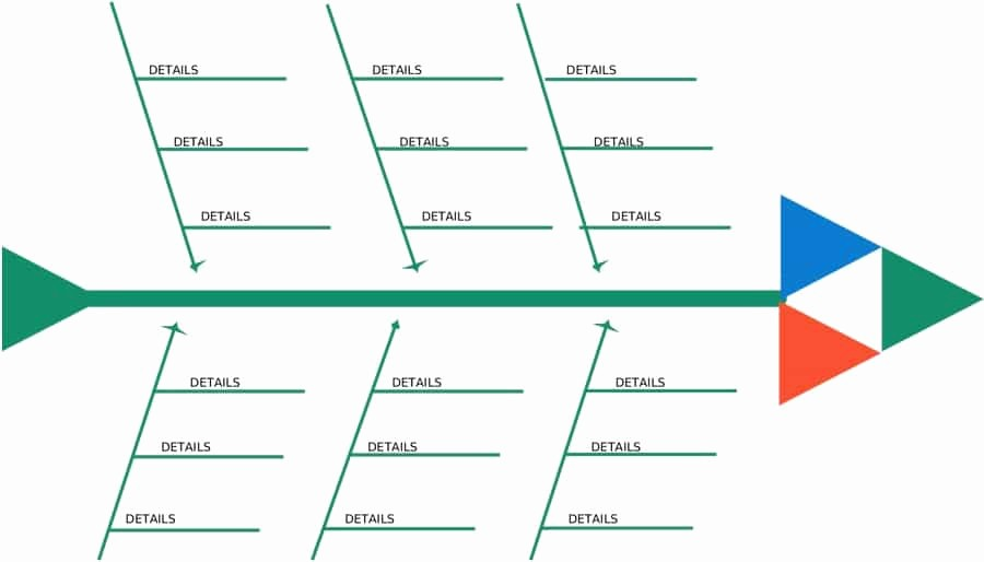 Free Fishbone Diagram Template Word New 43 Great Fishbone Diagram Templates & Examples [word Excel]