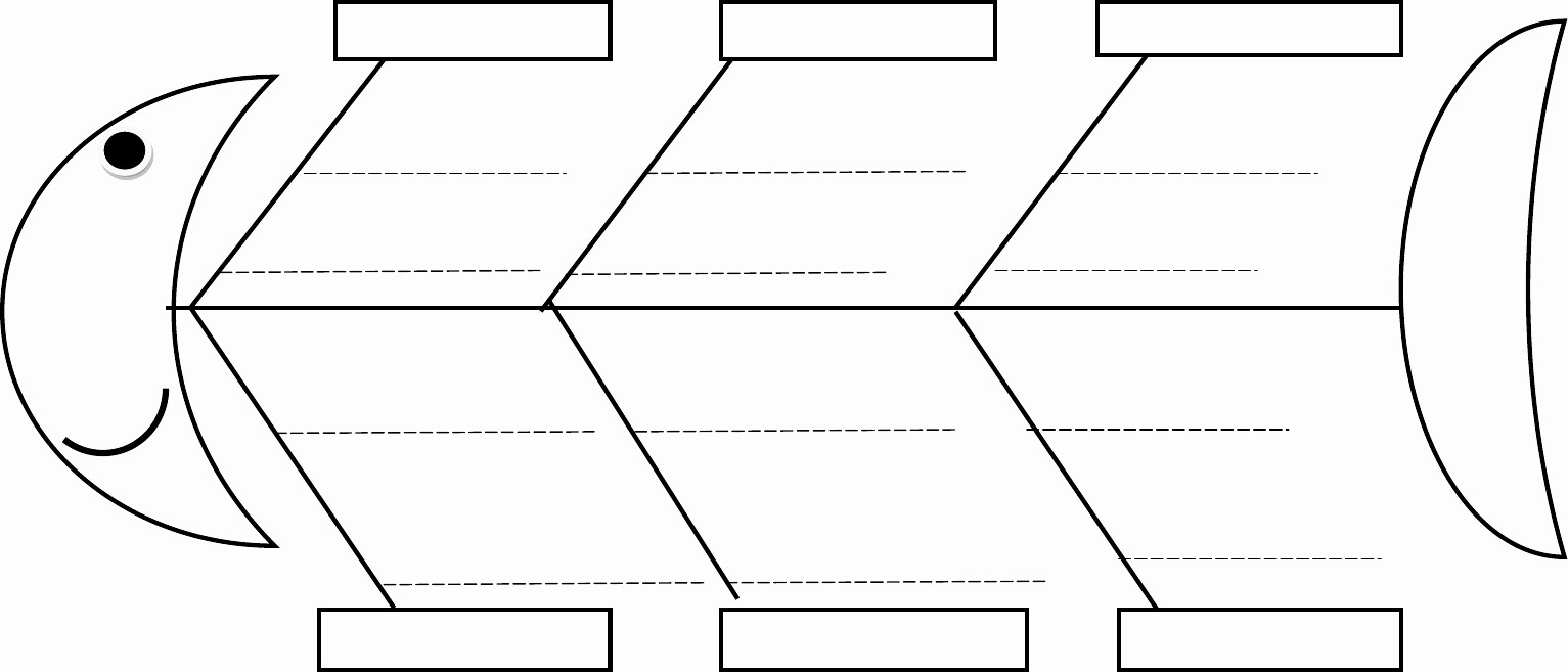 Free Fishbone Diagram Template Word New Blank Fishbone Diagram Template Word