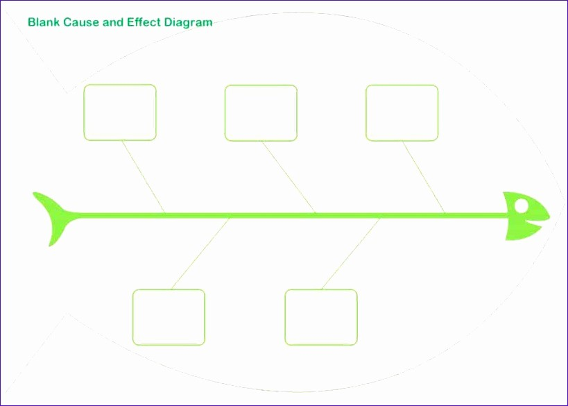 Free Fishbone Diagram Template Word Unique 8 Excel Fishbone Template Exceltemplates Exceltemplates
