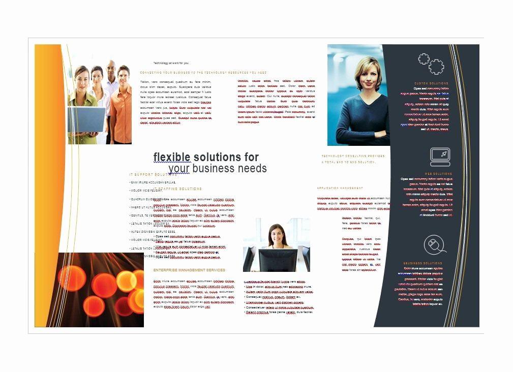 Free Flyer Template Microsoft Word Elegant 11x17 Brochure Template Word Free Templates Resume