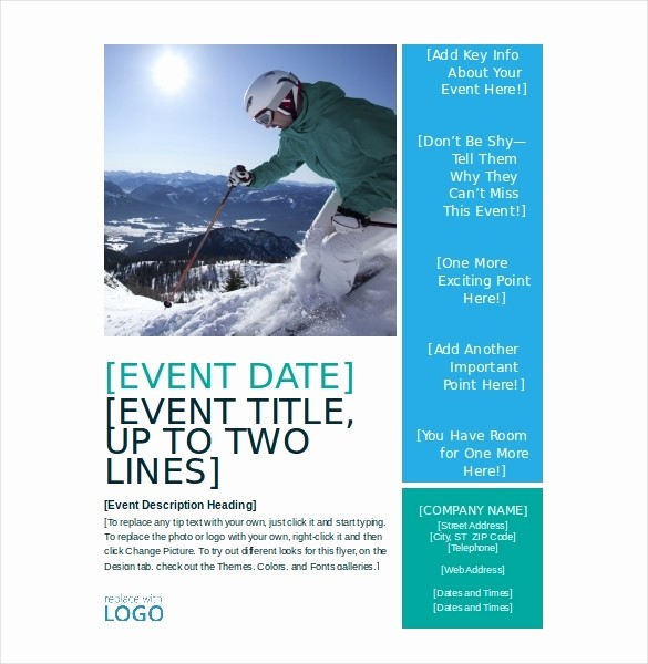 Free Flyer Template Microsoft Word Fresh Event Flyer Template Word