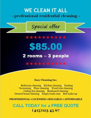 Free Flyers Templates Microsoft Word Elegant Special Discount Offer Flyer