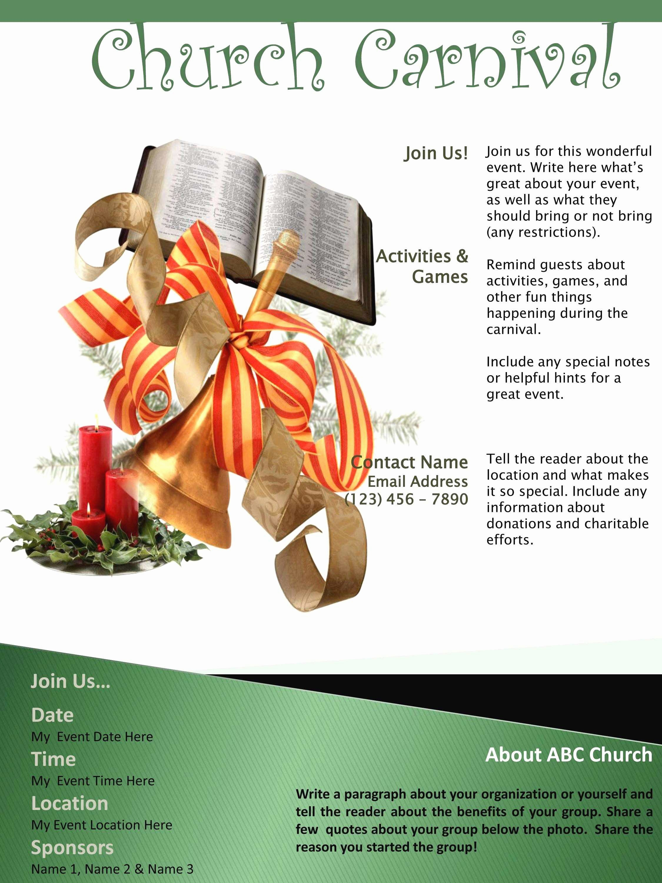 Free Flyers Templates Microsoft Word Lovely Best Free Church Flyer Templates Microsoft Word
