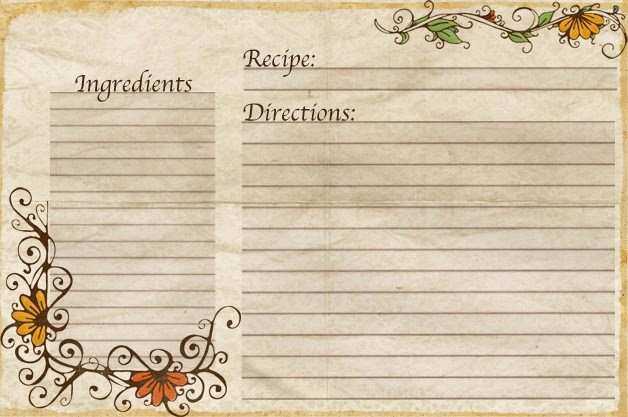 Free Full Page Recipe Templates Fresh Aletheia Free Recipe Cards Made by Yours Truly