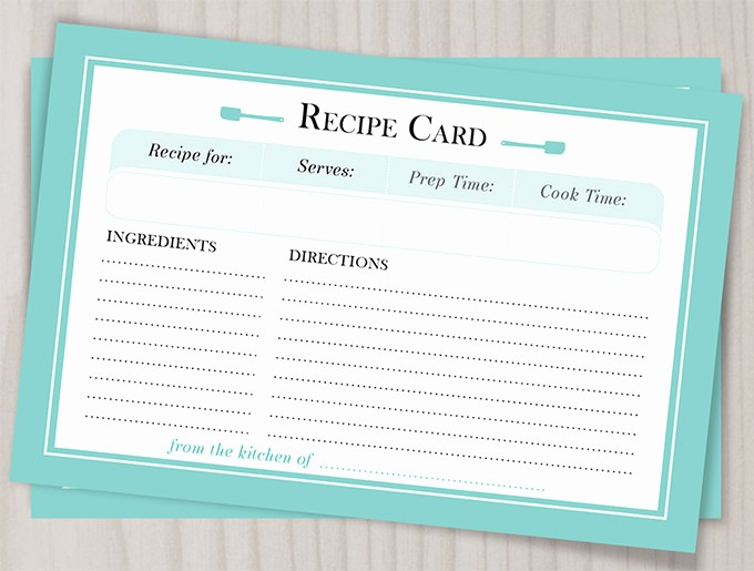 Free Full Page Recipe Templates Lovely 43 Amazing Blank Recipe Templates for Enterprising Chefs