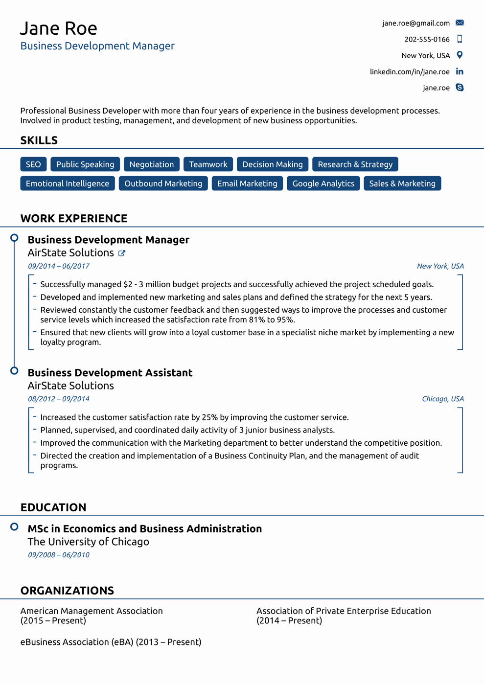 Free Functional Resume Template 2018 Awesome 8 Best Line Resume Templates Of 2018 [download & Customize]