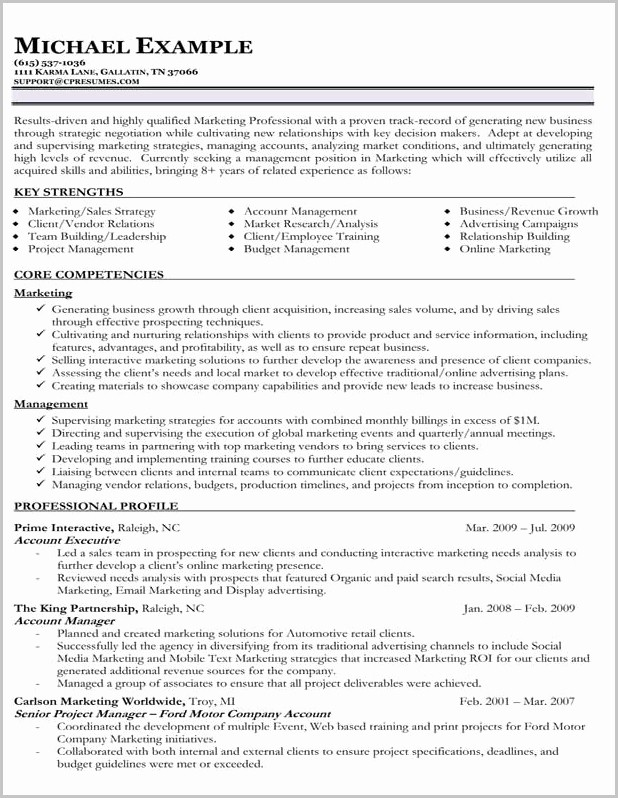 Free Functional Resume Template 2018 Beautiful Functional Resume Example Free Resume Resume Examples