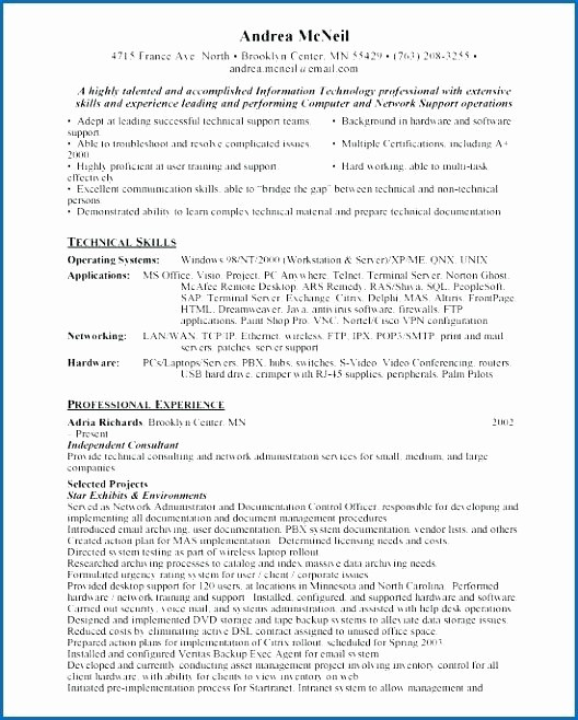 Free Functional Resume Template 2018 Fresh Best Functional Resume Sample Functional Resume for