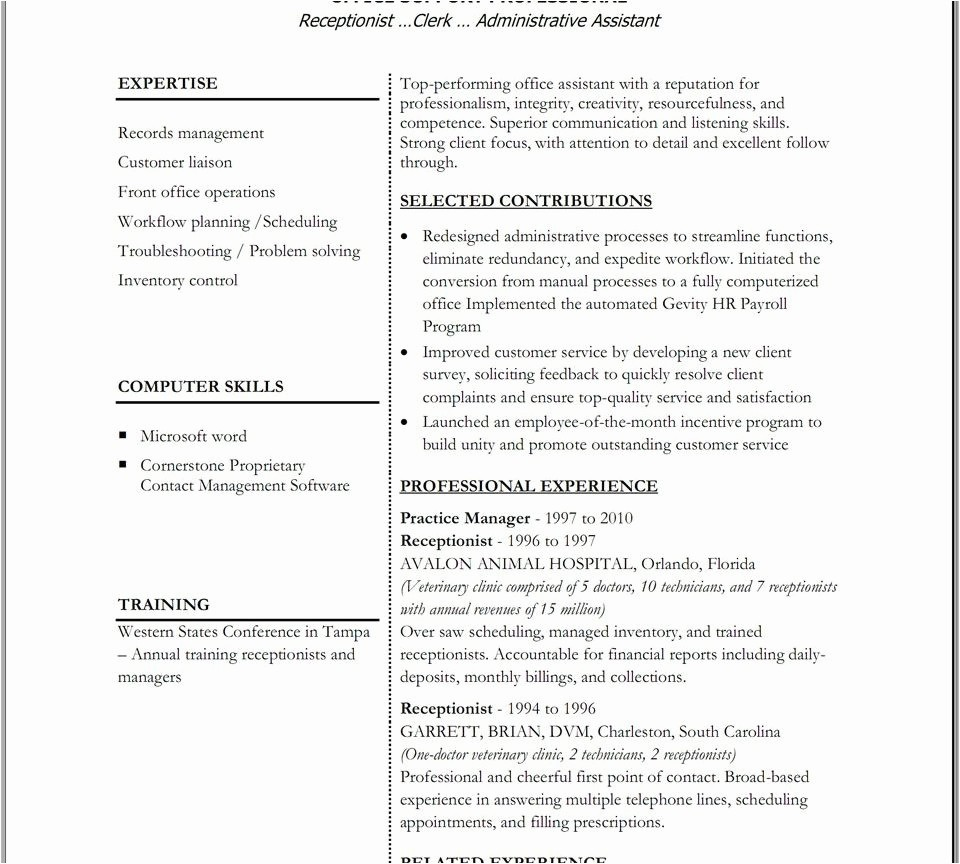 Free Functional Resume Template 2018 Inspirational 22 Functional Resume Template Free 2018