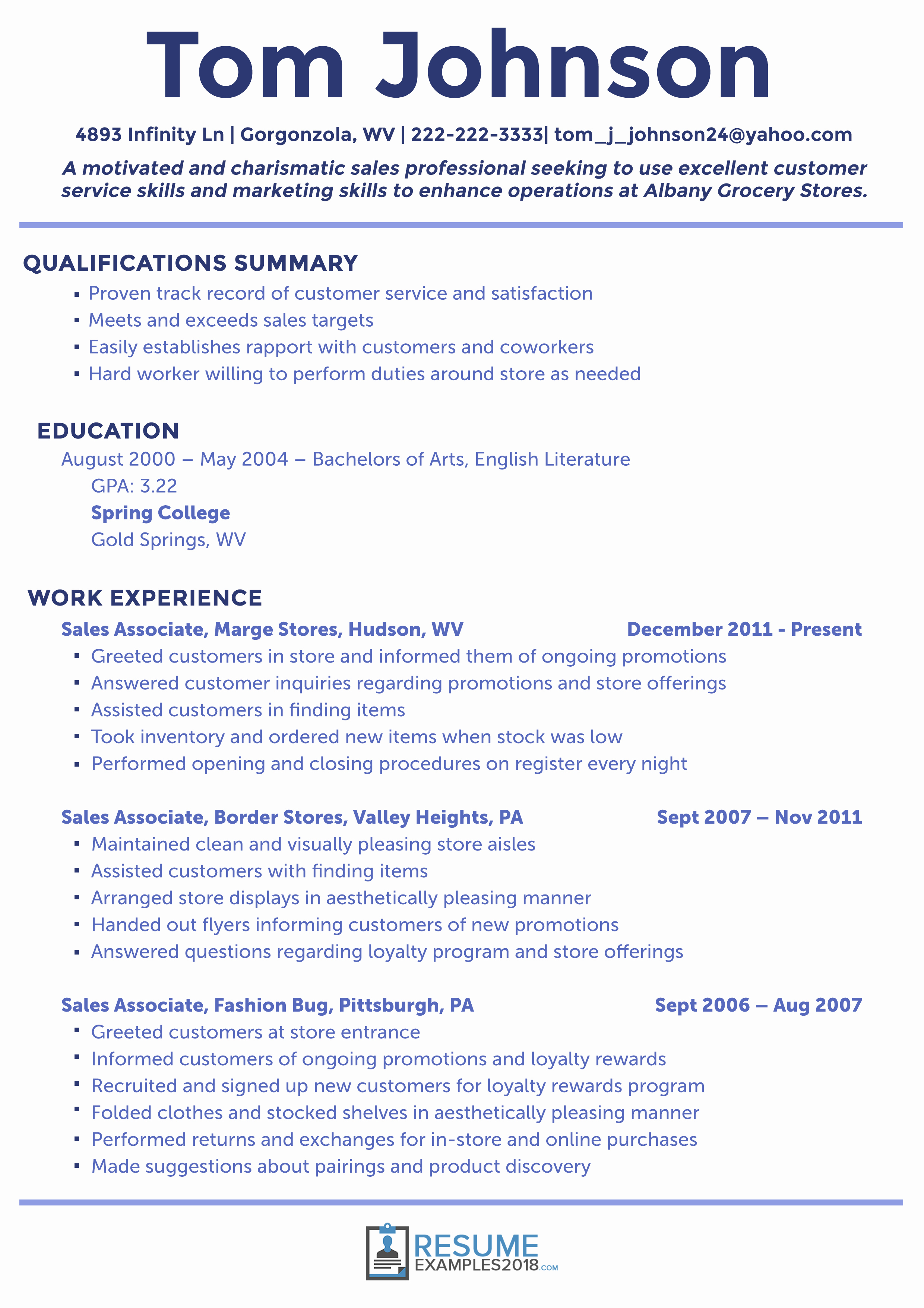 Free Functional Resume Template 2018 Unique What are the Best Sales Resume Examples 2019