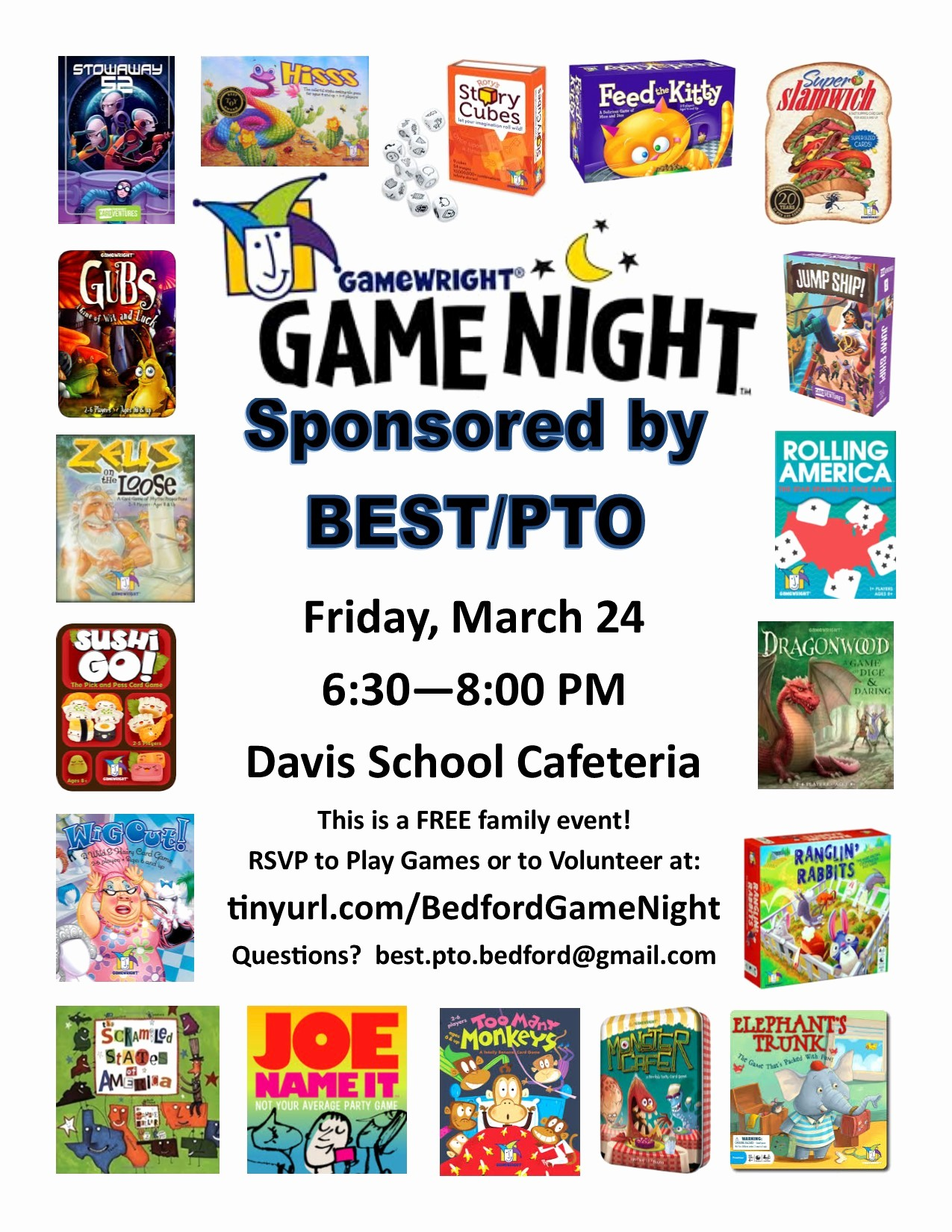 Free Game Night Flyer Template Awesome Family Game Night