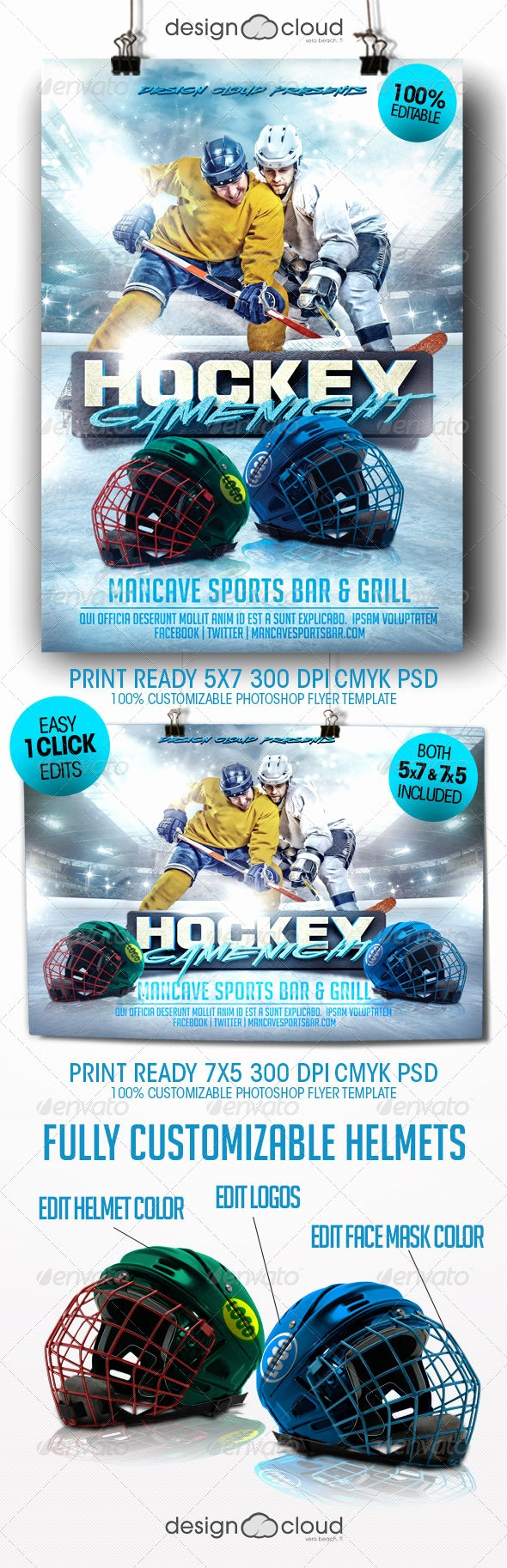 Free Game Night Flyer Template Best Of Hockey Game Night Flyer Template
